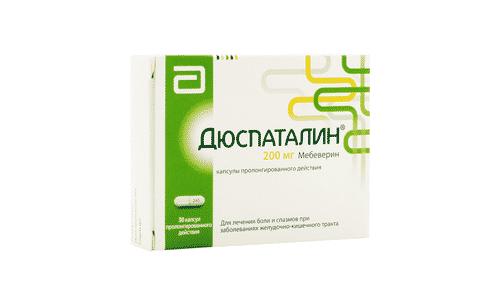 В комплексной терапии заболеваний органов пищеварения применяют лекарственное средство Дюспаталин